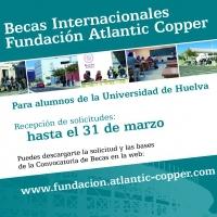 La Fundación Atlantic Copper concede becas internacionales