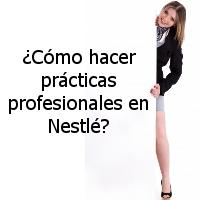 ¿Quiero hacer prácticas en Nestlé?