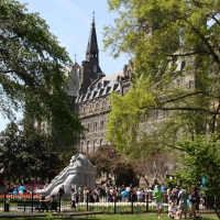 Becas para estudiar en la Universidad de Georgetown